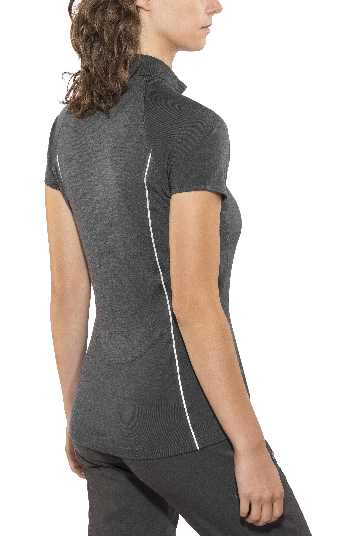 87264ca69 Icebreaker Comet Lite t-shirt Dames grijs l Online bij outdoor shop ...